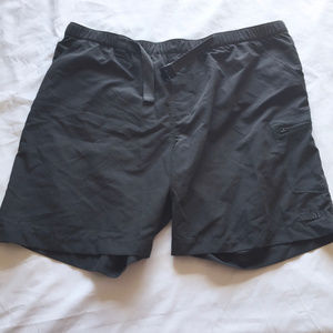 Men's North Face Lined Adjustable Hiking Shorts